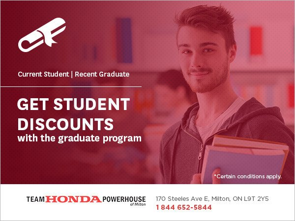 Get Student Discounts with the Graduate Program