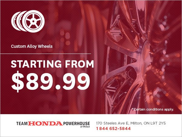 Custom Alloy Wheels from $89.99